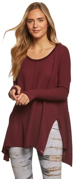 Hard Tail Thumbhole Slit Seam Side Pullover 8165084