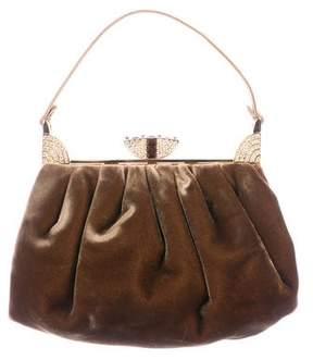 Judith Leiber Embellished Velvet Evening Bag