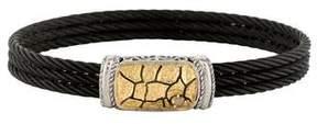 Charriol Two-Tone Diamond Bracelet