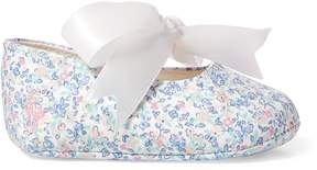 Ralph Lauren Briley Floral Cotton Slipper