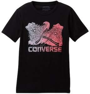 Converse Wavys Chucks Tee (Big Boys)