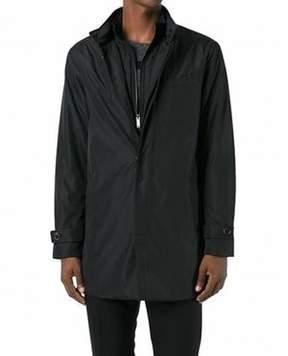 Michael Kors Black Mens Size Large L Full-Zipped 2-In-1Jacket