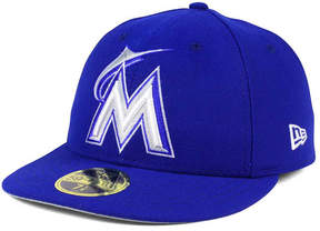 New Era Miami Marlins Low Profile C-dub 59FIFTY Fitted Cap