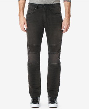 Buffalo David Bitton Men's Moto Relaxed Fit Stretch Jeans