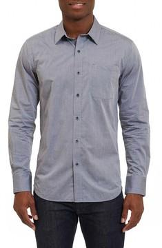 Robert Graham Men's Groves Tailored Fit Sport Shirt