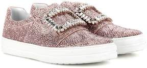 Roger Vivier Sneaky Viv embellished slip-on sneakers