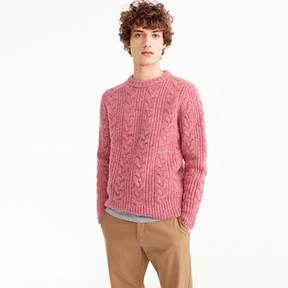 J.Crew Crewneck sweater in Donegal wool