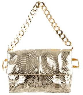 Michael Kors Embossed Leather Bag - GOLD - STYLE