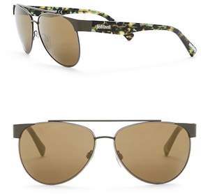 Just Cavalli Aviator 59mm Metal & Plastic Sunglasses