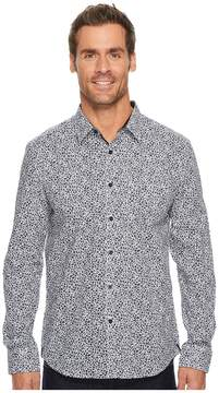 Kenneth Cole Sportswear Mosaic Print Shirt Men's Clothing