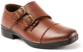 Deer Stags Wit Boys' Cap Toe Monk Strap Dress Shoes