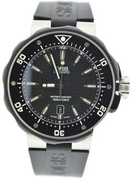 Oris Prodiver Date 7646 Titanium & Rubber Automatic 44mm Mens Watch