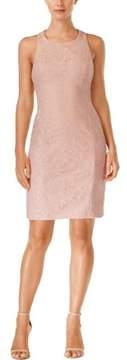 Calvin Klein Women's Lace Sleeveless Sheath Dress