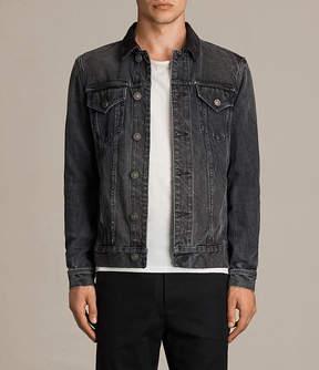 AllSaints Gravel Denim Jacket