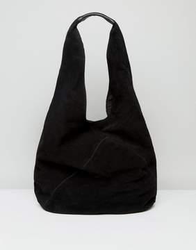 ASOS Suede Slouch Shoulder Bag