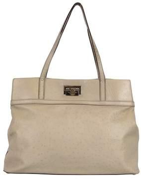 Kate Spade Taupe Leather Handbag - TAUPE - STYLE