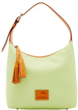 Dooney & Bourke Patterson Leather Paige Sac Shoulder Bag - KEY LIME - STYLE
