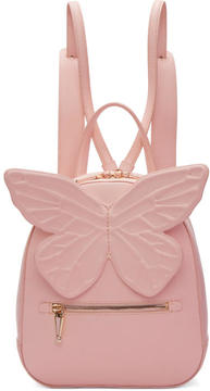 Sophia Webster Pink Kiko Butterfly Backpack