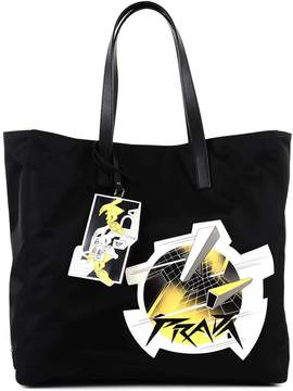 Prada Tote Bag With Application