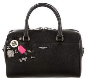 Saint Laurent Classic Baby Duffle Pin Bag - BLACK - STYLE