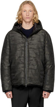 Mackage Black Camo Down Isidro Jacket