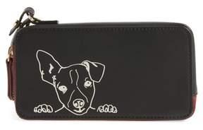 Women's Ed Ellen Degeneres Brea Convertible Smartphone Leather Clutch - Black
