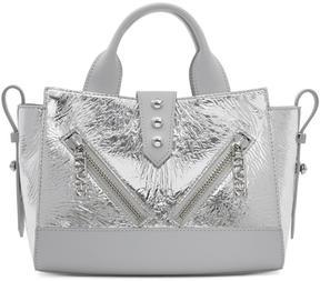 Kenzo Silver Mini Kalifornia Bag