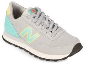 New Balance Round Toe Lace-Up Sneakers