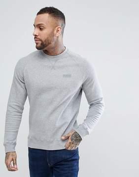 Barbour International Essential Crew Neck Sweatshirt in Gray