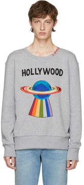 Gucci Grey Hollywood Saturn Sweatshirt