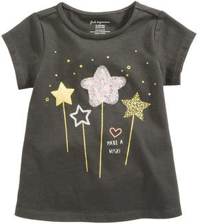 First Impressions Wands-Print T-Shirt, Baby Girls (0-24 months), Created for Macy's
