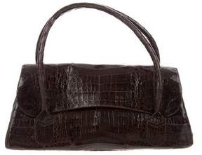 Nancy Gonzalez Crocodile Flap Bag