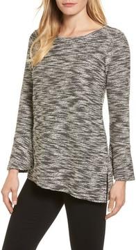 Chaus Women's Bell Cuff Asymmetrical Top