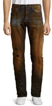PRPS Download Burnout Cotton Jeans