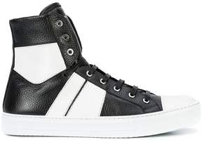 Amiri stripe detail sneakers