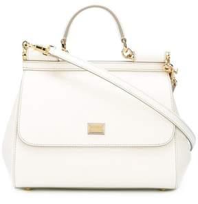 Dolce & Gabbana medium Sicily tote - WHITE - STYLE