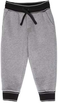 Dolce & Gabbana Logo Trim Cotton Sweatpants