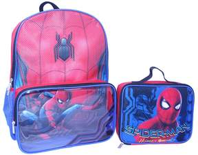 Marvel Kids Spider-Man Backpack & Lunch Bag Set