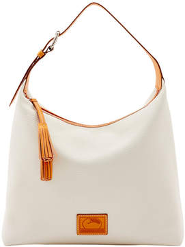 Dooney & Bourke Patterson Leather Large Paige Sac - BONE - STYLE