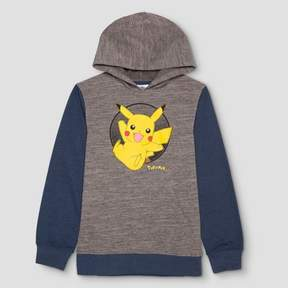 Pokemon Boys' Pikachu Sweatshirt - Dark Gray