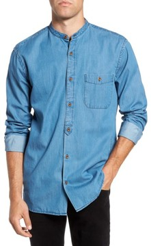 French Connection Men's The Three Ages Of Denim Sport Shirt