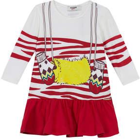 Junior Gaultier Printed Cotton Dress