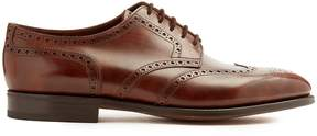 John Lobb Hayle leather oxford shoes