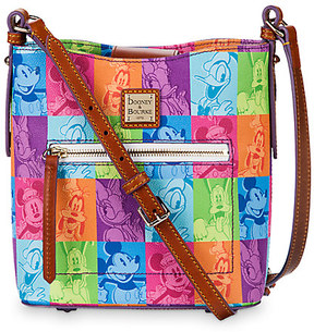 Mickey Mouse and Friends Pop Art Crossbody Bag by Dooney & Bourke