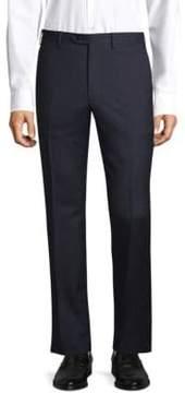 Brioni Regular-Fit Textured Wool Trousers