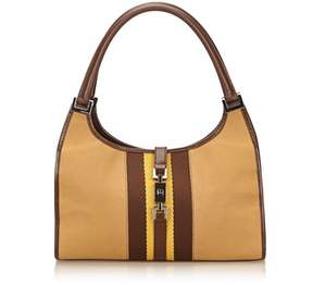 Gucci Pre-owned: Canvas Jackie. - BROWN X LIGHT BROWN X MULTI - STYLE