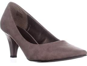 Karen Scott Ks35 Meaggann Pointed Toe Dress Pumps, Taupe.