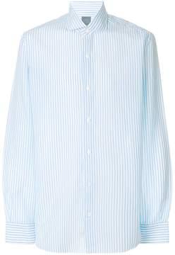 Barba striped loose fit shirt