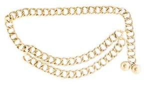 Chanel Embellished Chain-Link Belt