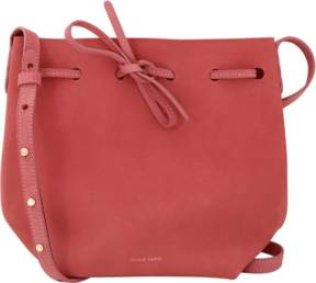 MANSUR GAVRIEL Suede Mini Bucket Bag